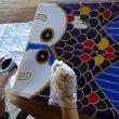 日本人バティックアーティストによる出張バティック体験ワークショップ