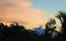 2018年2月17日 今朝のバリ島アグン山の日の出