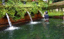 ウブドから15分 外国人観光客の少ない沐浴できる寺院へご案内します。