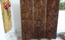 日本で言うところの人間国宝 ウブドの木彫師Njana氏のギャラリー訪問記