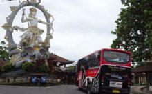バリ島 路線バスの旅 Ubud~Ubung その1 ウブド市場から乗車編 停留所の詳細あり