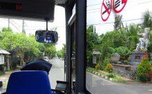 バリ島 路線バスの旅 Ubud~Ubung その2 バリの伝統手工芸 村 編 停留所の詳細あり